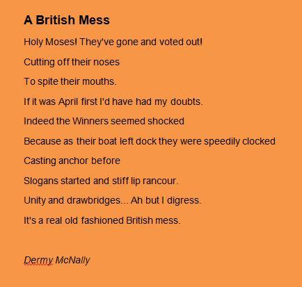 A British Mess